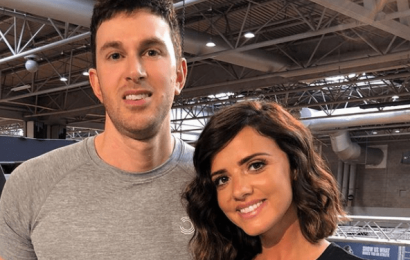 Lucy Mecklenburgh's 'mystery man revealed as millionaire sports nutrition boss Adam Rossiter'