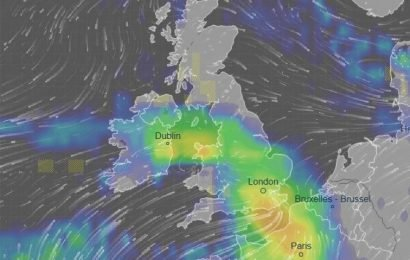 UK weather forecast – MORE rain and 50mph gales to hit Britain before Christmas