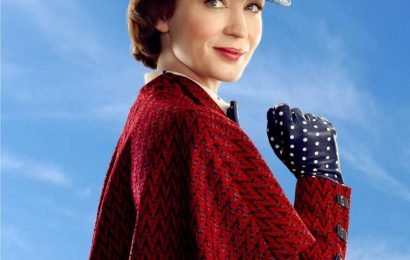 Emily Blunt Says Flying asMary Poppins Was 'Totally Terrifying': 'I'm Very Bad with Heights'