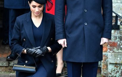 See Meghan Markle's Perfect Curtsy to the Queen (and How Much It's Improved Since Last Christmas!)