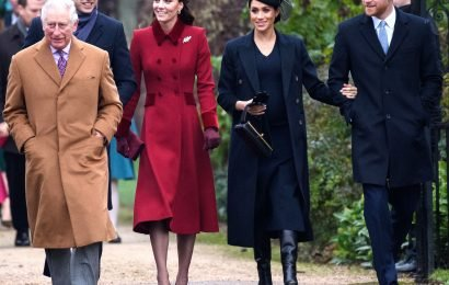 Meghan Markle, Prince Harry join William and Kate on Christmas Day