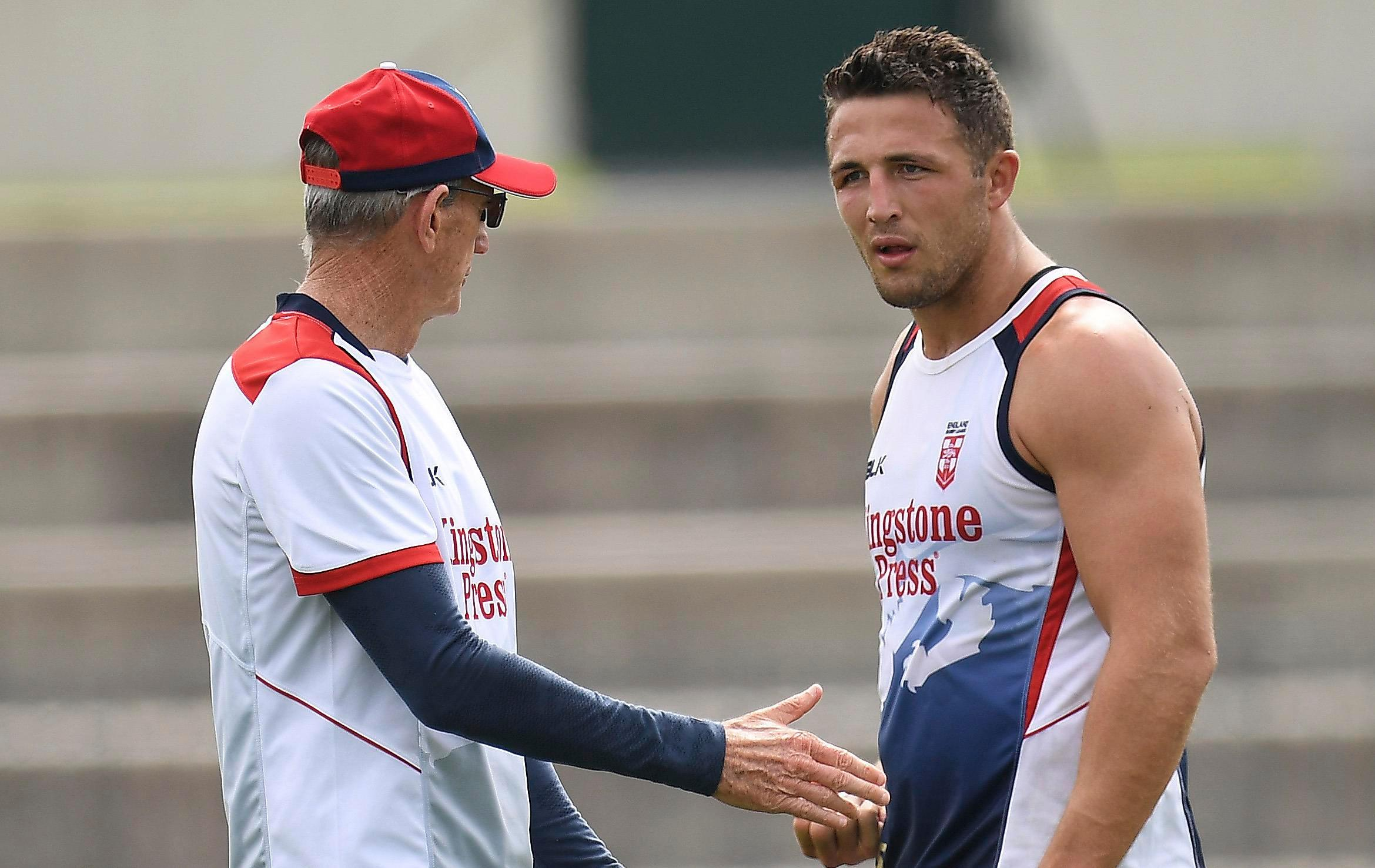 Sam Burgess is OK if new club boss Wayne Bennett criticises him in public