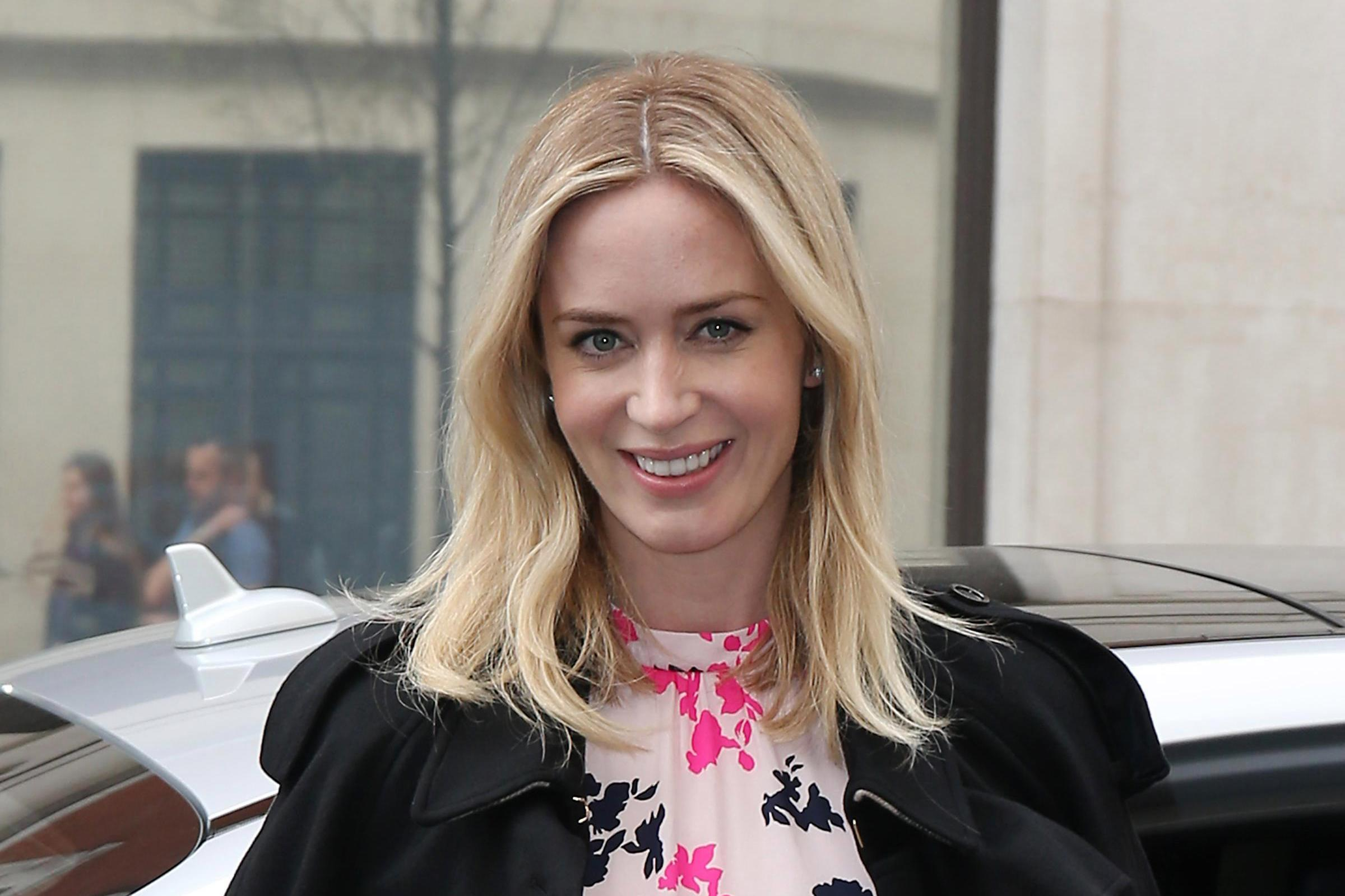 How old is Emily Blunt, what is the Devil Wears Prada actress's new movie A Quiet Place and who's her husband John Krasinski?