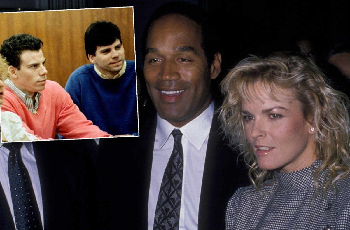 Menendez Brother Believes O.J. Simpson Is Responsible For Nicole Brown's Brutal Death