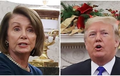 Behind Closed Doors, Trump Reiterates Claim That Mexico Will Pay For His Wall, Pelosi Says