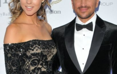 Peter Andre leaves wife Emily red-faced with VERY cheeky 'sausage' joke