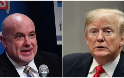 Congressman References 'Jail Bars' For Trump In Response To President's 'Steel Slats' Tweet