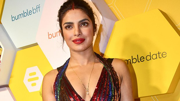 Priyanka Chopra & More Stars Stunning In Rainbow Sequin Dresses That'll Look Great On NYE