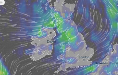 UK weather forecast – Britain to be hammered by thunderstorms with 35 flood warnings issued… and MORE heavy rain is on the way