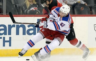 Young forward facing uncertain future as Rangers get healthy