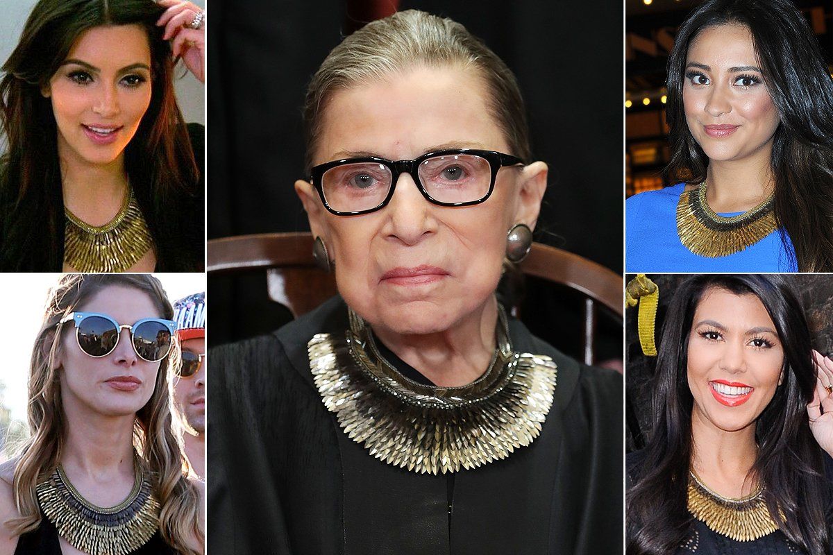 What Does Ruth Bader Ginsburg Have in Common with Kim Kardashian? Fashion Sense, Apparently