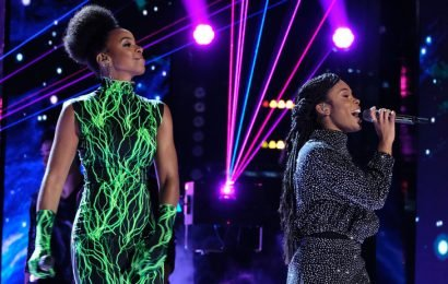 Kelly Rowland Joins Kennedy Holmes to Perform 'When Love Takes Over' on 'The Voice' Finale (Video)