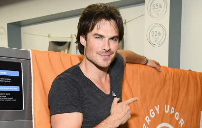 Ian Somerhalder Shocked Shoppers with His Healthy Groceries