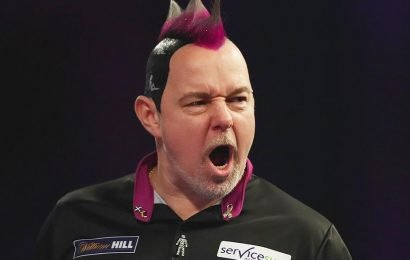 Wright to ruffle feathers in World Darts Championship after losing two stones through illness and no sleep at Ally Pally last year