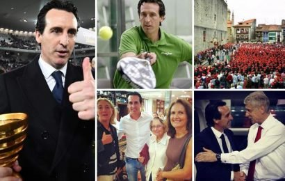 Unai Emery: Arsenal boss loves padel tennis – and never misses his hometown's medieval festival