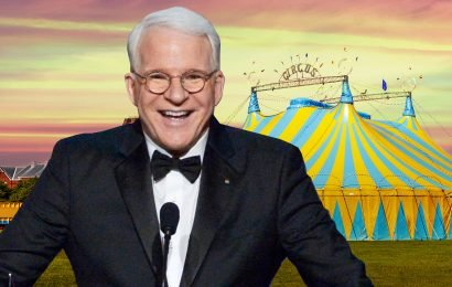 Steve Martin throws daughter private Big Apple Circus party