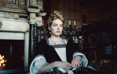 Emma Stone says she didn't really stomp on a real rabbit for 'The Favourite'
