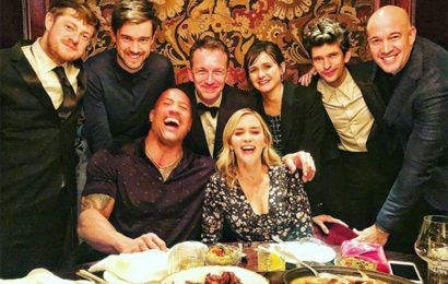Emily Blunt, Dwayne Johnson, Jack Whitehall and More Enjoy Tequila (and Wine!) in London