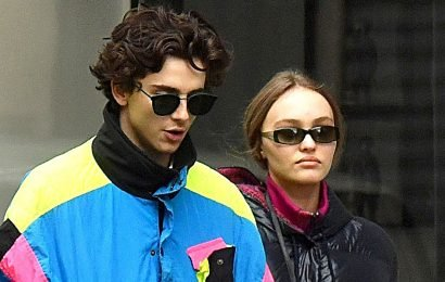 City of Love! Timothee Chalamet, Lily-Rose Depp Get Cozy in Paris