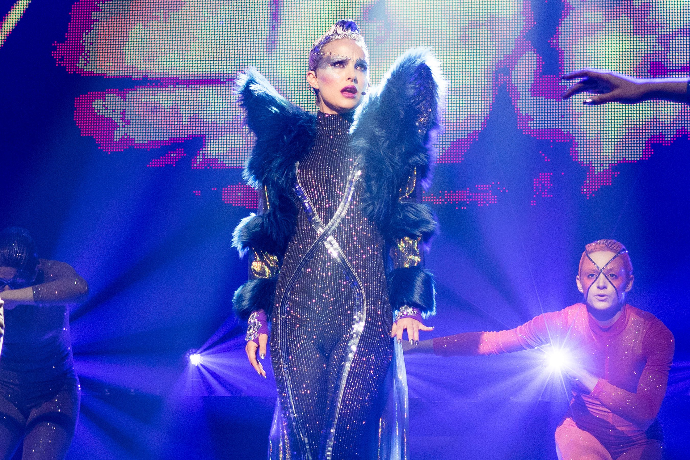 Natalie Portman sings Sia song Wrapped Up from Vox Lux