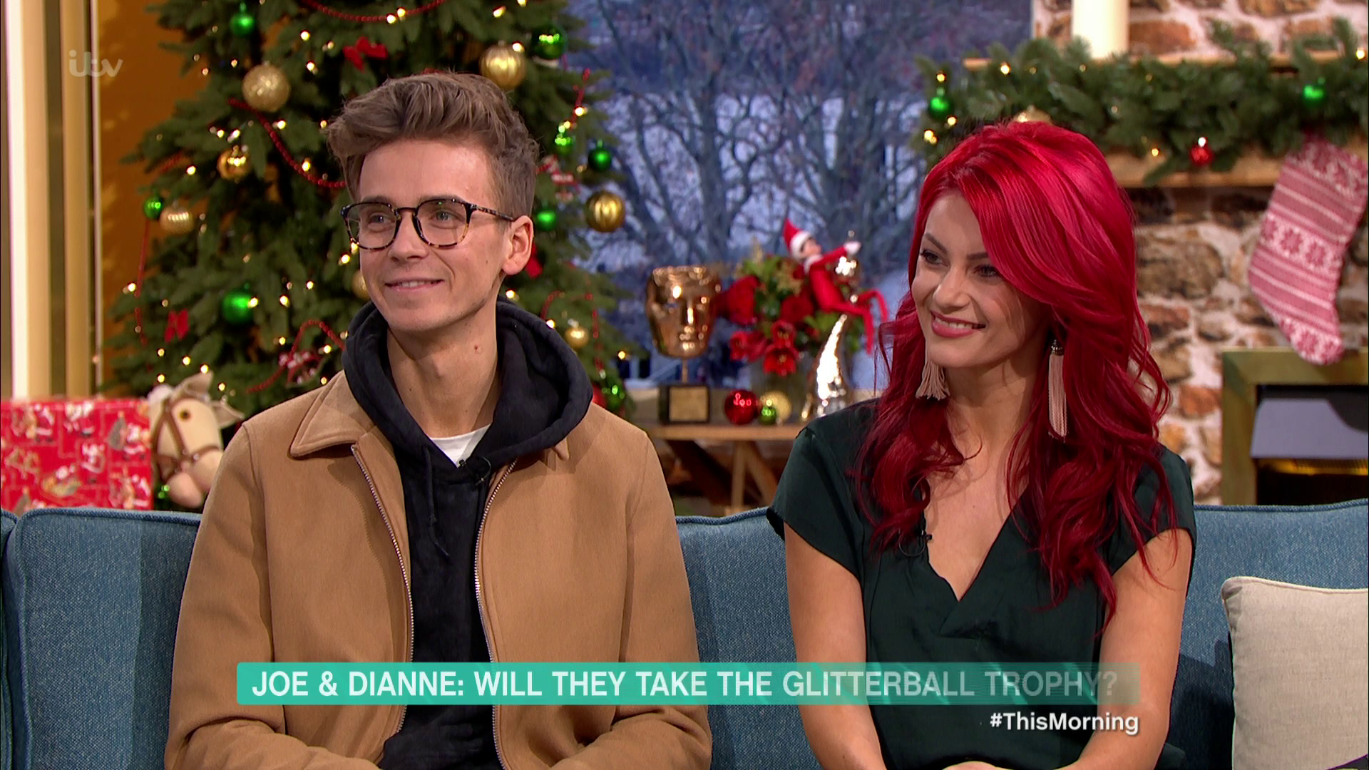 Strictly's Joe Sugg and Dianne Buswell gave away romance on This Morning despite insisting they were 'too busy' to love