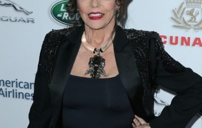 Joan Collins thinks the 'Baby It's Cold Outside' controversy is 'out of control'