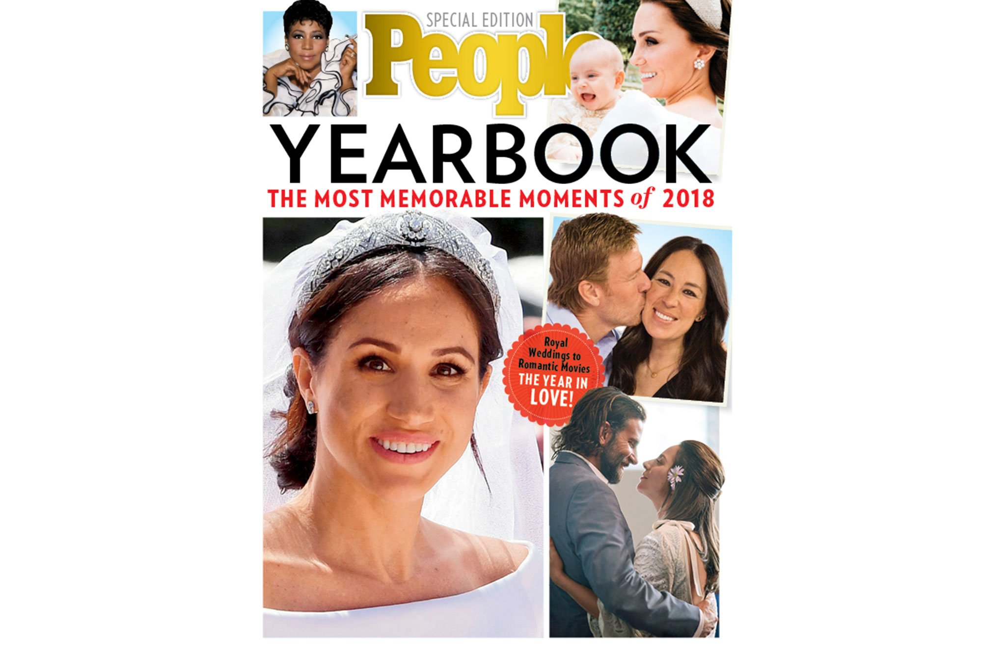 PEOPLE Celebrates 2018 with a Special Yearbook Edition