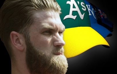 Three decades after setting salary bar, A's can only dream about Bryce Harper