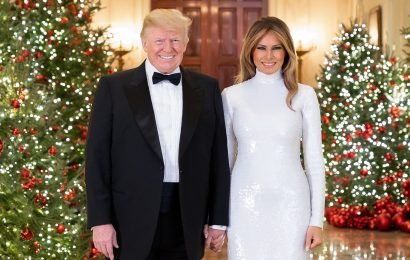 President Trump and first lady Melania release 2018 White House Christmas portrait