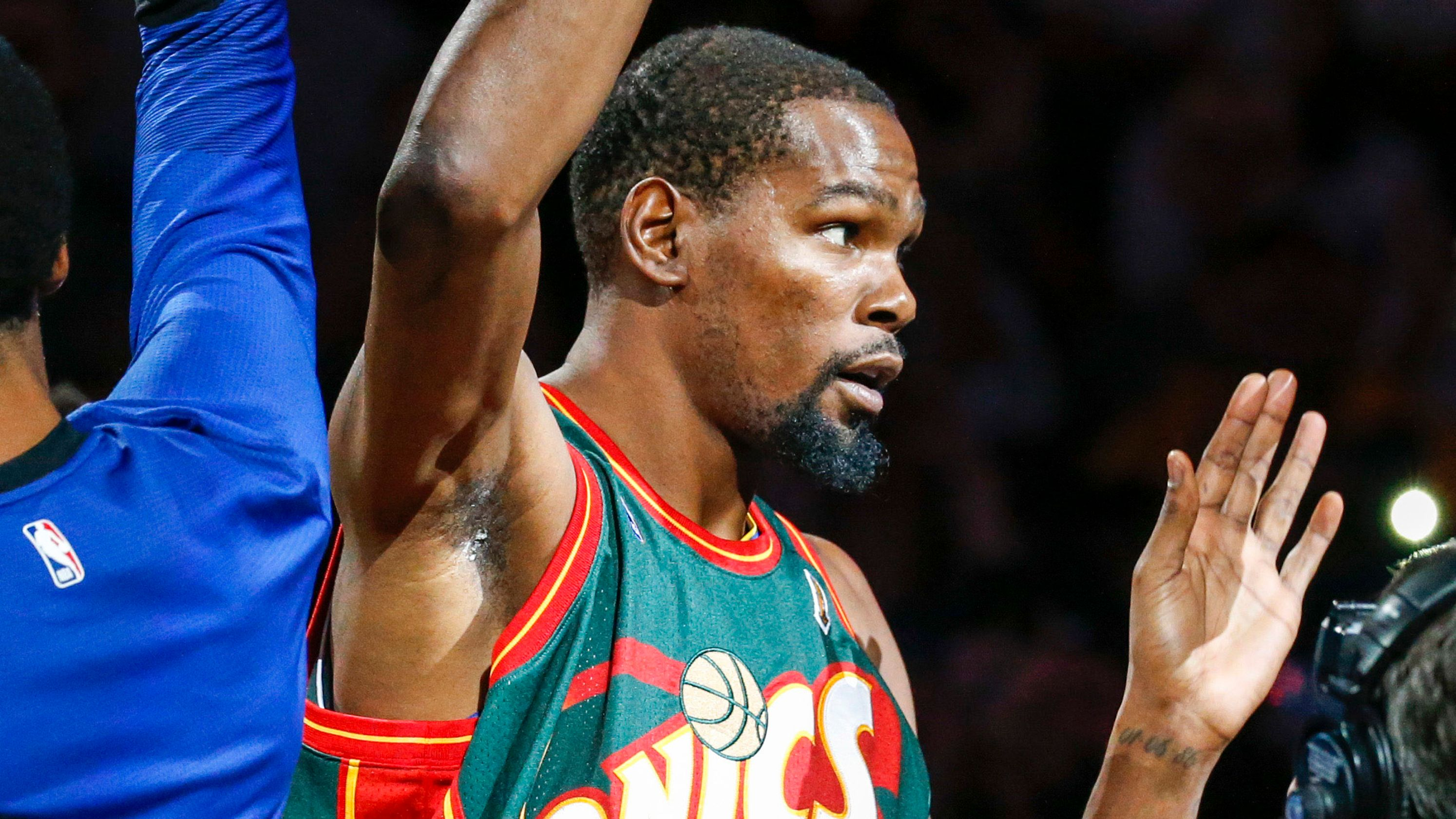 Would Kevin Durant like to bring the NBA back to Seattle as an owner? 'Hell yeah'