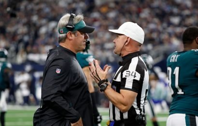 Eagles' Malcolm Jenkins: Replay official 'should stay off the bottle' on fumbled kickoff