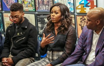 Michelle Obama shares a playlist of her favorite Motown songs, old and new