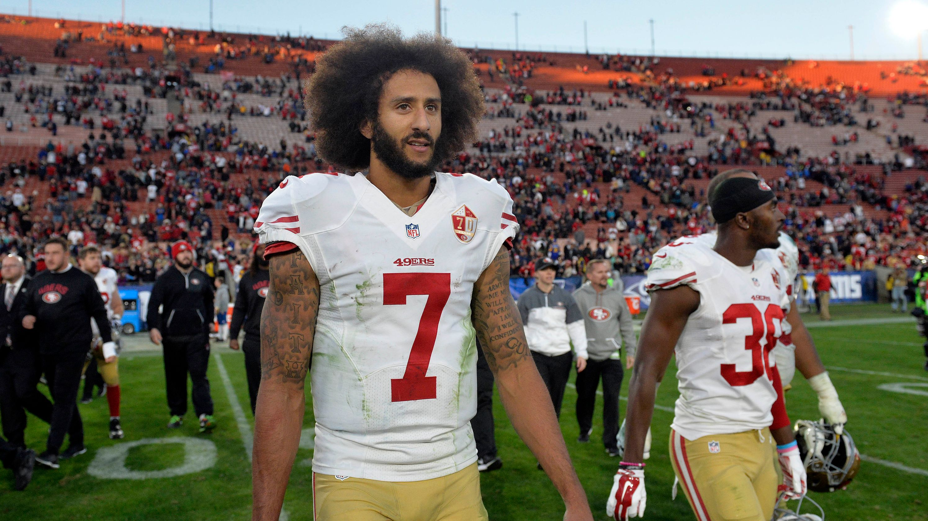 Redskins' Jay Gruden: Colin Kaepernick 'discussed,' but QB not right fit for team now