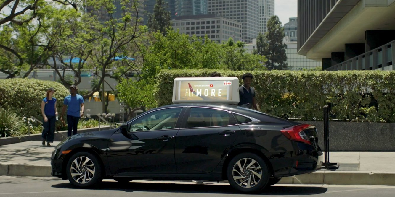 An ad tech startup that turns ride-sharing vehicles into digital billboards just raised $21.5 million