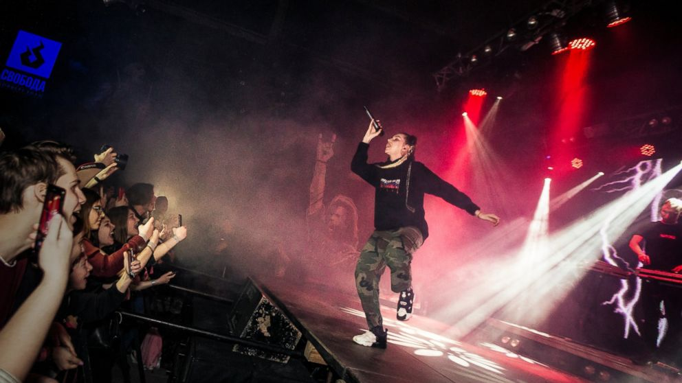Russian rappers, other artists targeted in crackdown