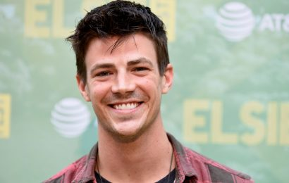 'The Flash' star Grant Gustin marries LA Thoma in Los Angeles ceremony