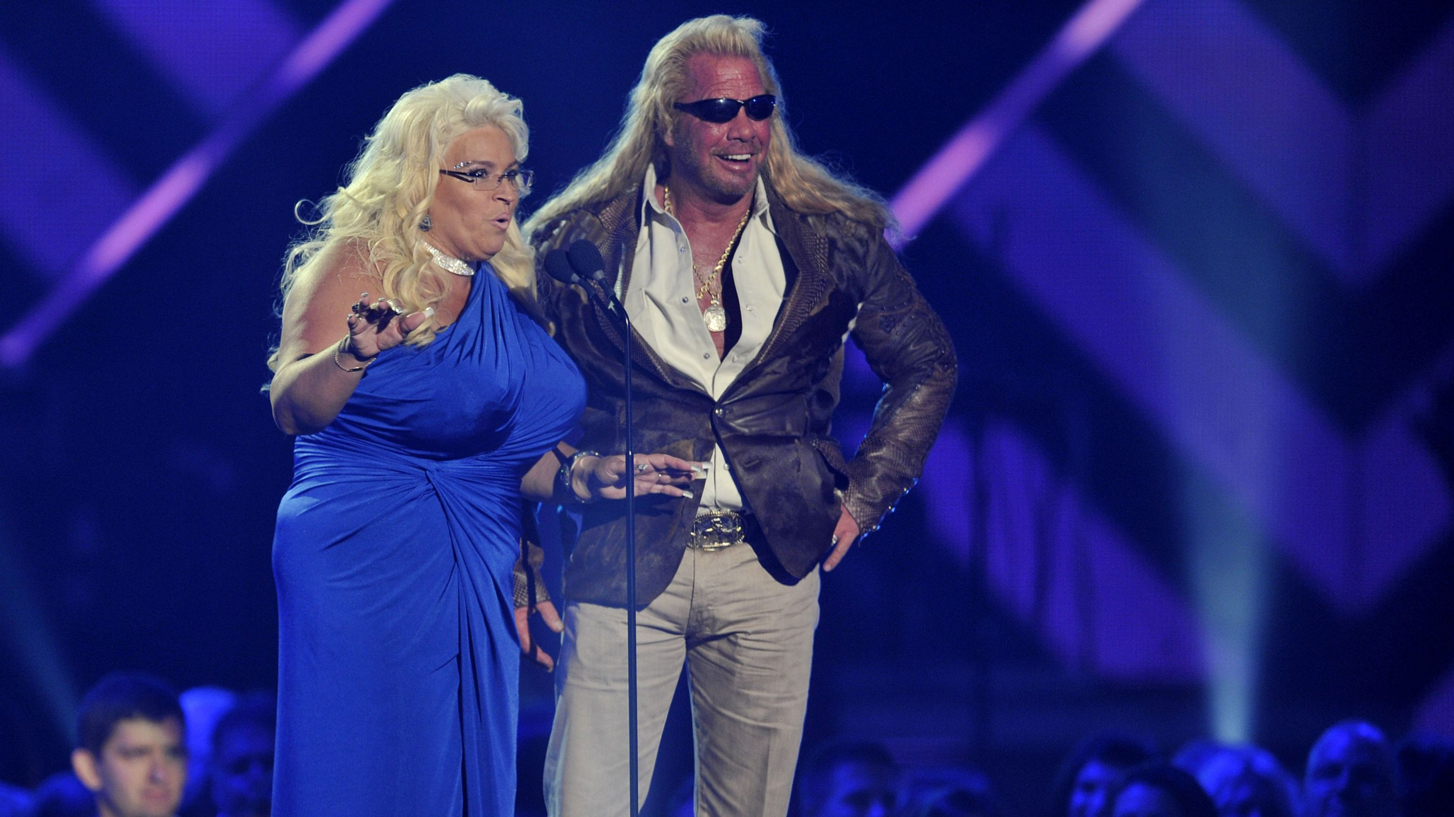 Wife of 'Dog the Bounty Hunter' returns home after tumor removal against doctor's advice