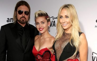 Miley Cyrus poses with parents Billy Ray and Tish in stunning new wedding photos: 'Long live love!'