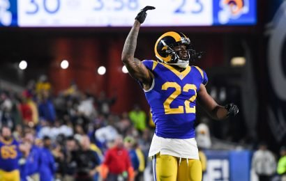 Rams' Marcus Peters shown on video confronting fan during game
