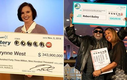The largest lotto jackpots of 2018, who won them, and where the money is going