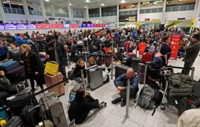 Man, woman arrested in drone intrusions that brought busy Gatwick Airport to a standstill