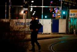 Gunman 'on the run' as shooting near Christmas market in Strasbourg leaves one dead and nine injured
