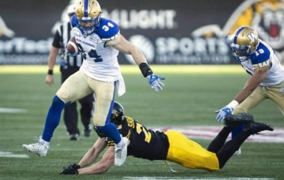 Winnipeg Blue Bombers sign Canadian linebacker to multi-year contract