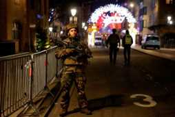 'There were gunshots and people running' – hunt for gunman as two dead and 11 injured in Christmas market shooting