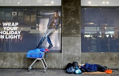 Homeless deaths in England, Wales rise by a quarter in 5 years