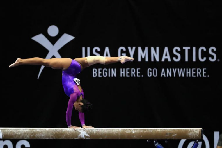 US Gymnastics, reeling from abuse scandal, files for bankruptcy