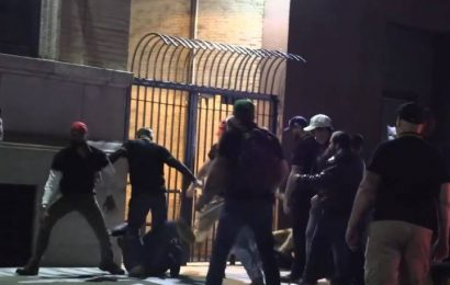 New footage appears to show Proud Boys charging protesters, sparking NYC street brawl