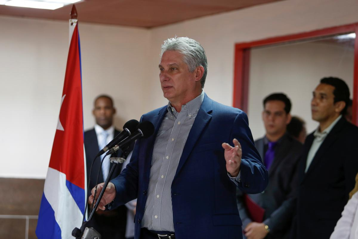 Cuba president says policy changes address people's concerns, not a setback