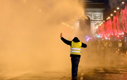 Few turn out for French 'yellow vest' protests, driver dies at road block