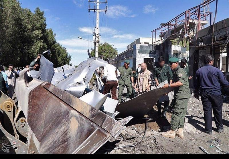 Suicide bomber kills at least two in attack on southeast Iran police HQ